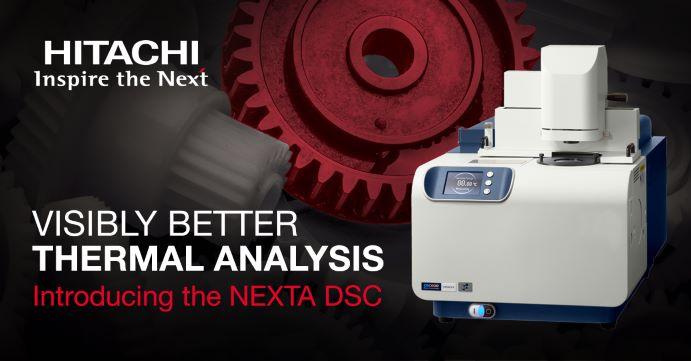 Nová spolupráce - Hitachi Thermal Analysis