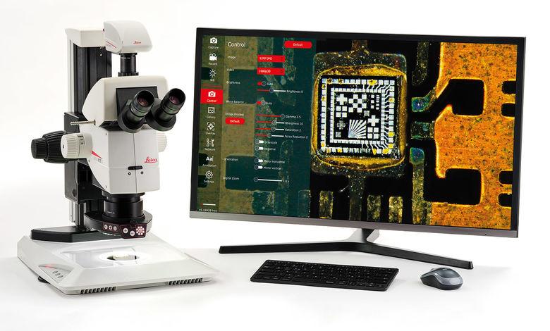Nová mikroskopická kamera Leica FLEXACAM  C1