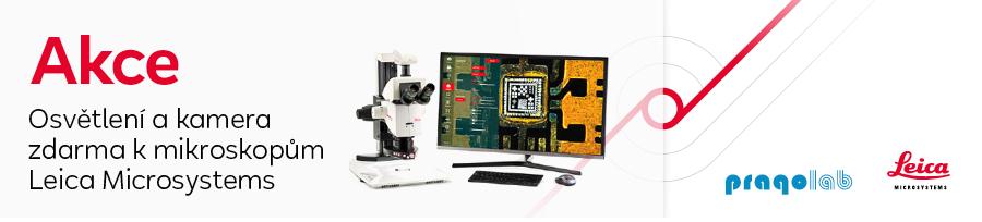 Osvětlení a kamera zdarma k mikroskopům Leica Microsystems